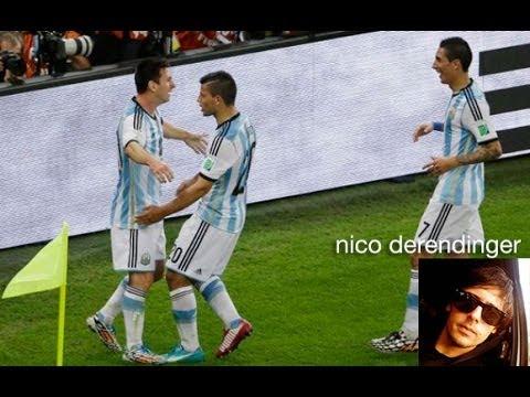 Relato Fantino Iran Argentina gol de Messi