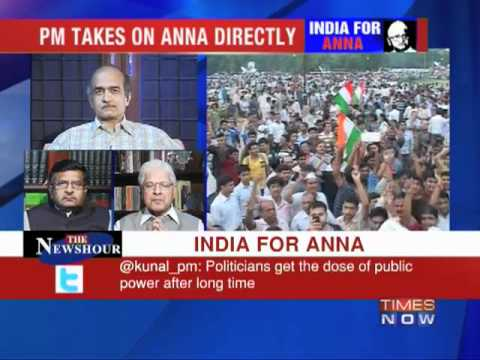Debate: India for Anna Hazare - 1