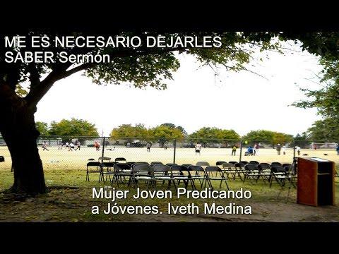 Iveth Medina: PREDICANDO con UNCIÓN y FUEGO - Predicas Cristianas Evangélicas - Predica Juvenil -
