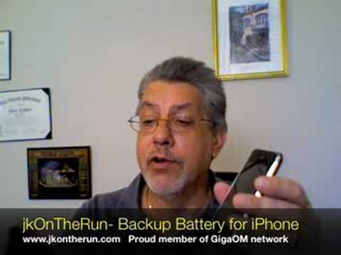 jkOnTheRun- Richard Solo Backup Battery for iPhone/ iPod Touch