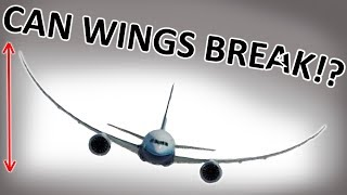 Why don't the wings break?!