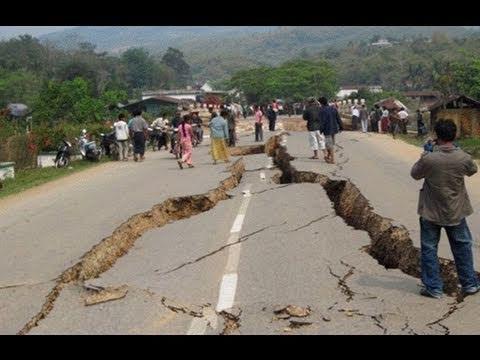 Video: Động đất mạnh ở Miến Điện