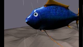Bonnie Fish - 3d animation view on youtube.com tube online.