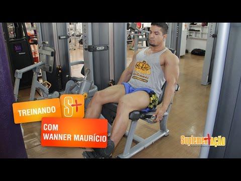 Treino de pernas com Wanner Maurício