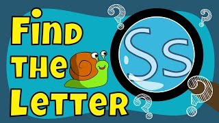 Alphabet Games | Find the Letter S