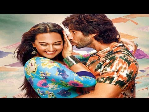R.... Rajkumar - Shahid Kapoor wants to kiss Sonakshi Sinha