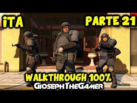 GTA 5   WALKTHROUGH ITA PARTE 21   Colpo alla Banca: Distruzione TOTALE! HD By GiosephTheGamer