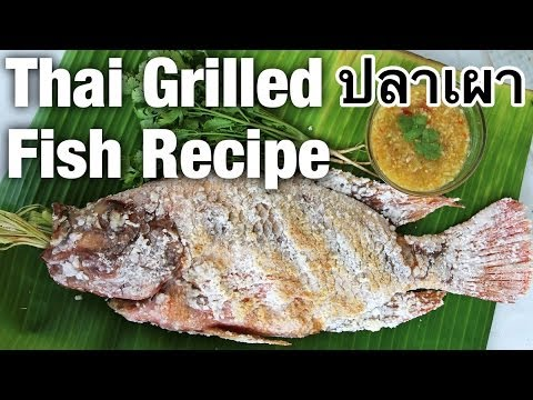 Authentic Thai Grilled Fish Recipe