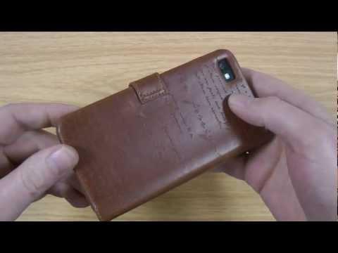 zenus masstige blackberry z10 lettering diary case brown start