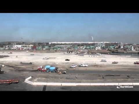 Sully-Miller Port of Los Angeles Berth 102 Rear Backland Development 3 Timelapse