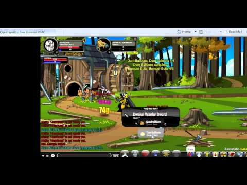 how to get easy money in aqworlds