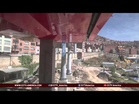 Bolivia Deploys the World's Largest System of Cable Cars