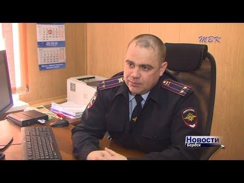В Бердске полицейские задержали пьяного угонщика
