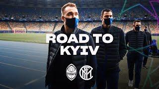 SHAKHTAR DONETSK vs INTER | ROAD TO KIEV | From Milano to Olympiyskiy! ✈⚫🔵🇺🇦???