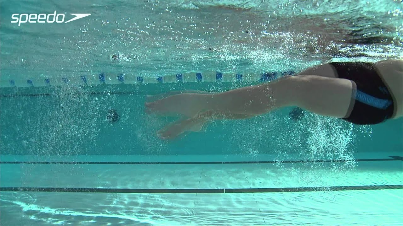 Learn to swim backstroke with the