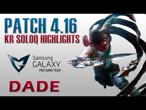 SG Blue Dade vs C9 Hai - Talon vs Zed - KR SoloQ Highlights