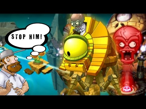Plants vs Zombies 2: Ancient Egypt Day 25 - Zombot Sphinx-inator