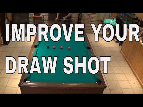 Five Advanced Draw Shot Drills ( Pool Lessons )