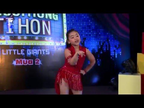 Người Hùng Tí Hon mùa 2   Điệu nhảy Baby girl với bé Thùy Dương