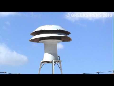 Σειρήνα Συναγερμού - Δοκιμή 02-10-2013, Αθήνα - Siren Test