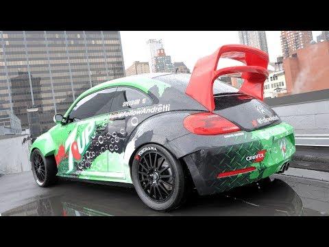 Auf den Dächer von New-York: Rallycross-Beetle mit mehr als 560 PS und