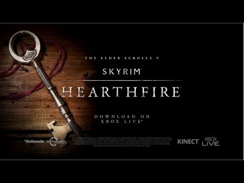 The Elder Scrolls V Skyrim: Hearthfire - Official Trailer, Ever wanted to build houses in Skyrim? Want to adopt a children? Now you could. Simply download heartfire in Skyrim and you could enjoy those features and many more.