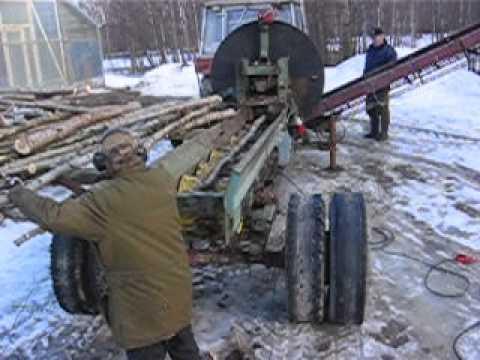 Hemmabyggd vedmaskin Piteå - The early Years