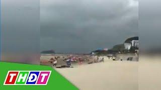 Thợ chụp hình ở bờ biển Vũng Tàu bị sét đánh nguy kịch   THDT