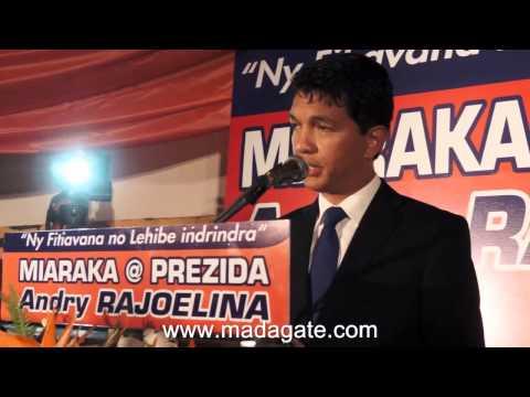 Andry Rajoelina. Tsy ho PM, 21.02.2014