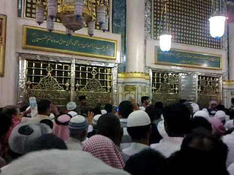Roza e Rasool (S.A.W)- Masjid e Nabvi . Madina