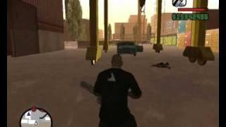 Gta San Andreas Minigun Infinita Sin Trucos Parte 1/2