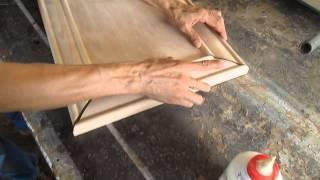 Como hacer puertas en corte 45°
