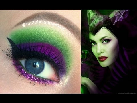 Disney Maleficent Makeup Tutorial - Disney Demóna smink