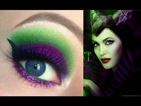Disney Maleficent Makeup Tutorial - Disney Demóna smink