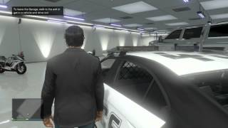 GTA V ONLINE: How To INSURE ANY VEHICLE AND PUT IT IN YOUR