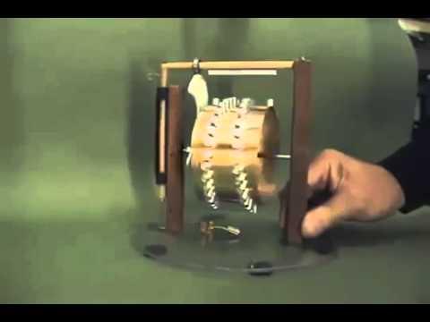 Máquina de Movimiento Perpetuo - Energía Libre con Imanes de NEODIMIO. Perpetual Move Machine