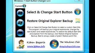Como Cambiar El Boton De Inicio De Windows 7 2013 Bien