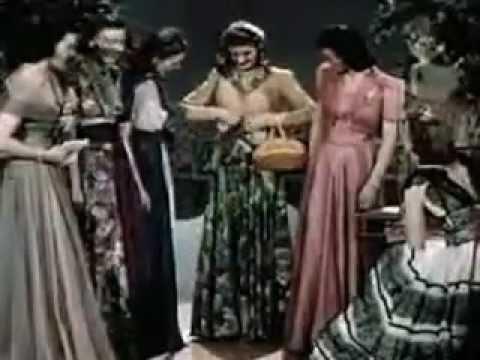 Cortometraggio su Moda e Costume negli anni '40