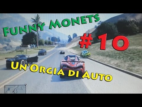 Gta 5 | Funny Moments #10 - Un'Orgia di Auto