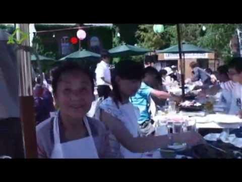 札幌和中国人留学生的夏日焼肉交流会