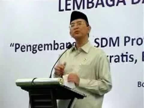 Rakernas LDII 2012 - Sambutan Menteri Agama Part 3
