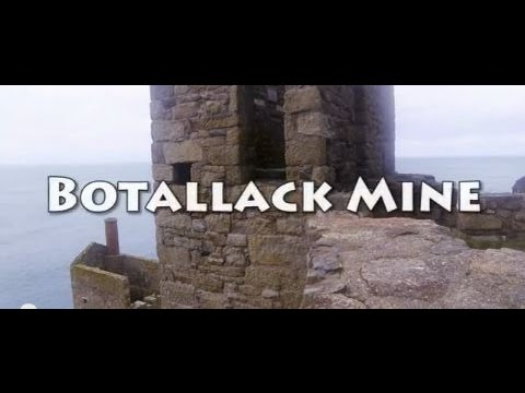 History of Cornish Tin Mines - Botallack Mine