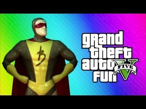 GTA 5 Online Funny Moments - Brown Streak Man, Changing Room Glitch, Poop Cop, Daw SHIT!