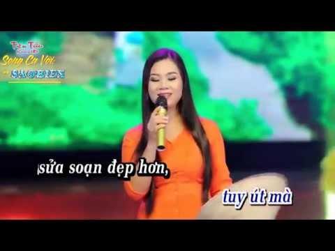 Karaoke Áo Mới Cà Mau - Song ca với saobien