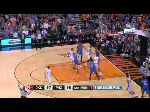 Oklahoma City Thunder vs Phoenix Suns | April 6, 2014 | NBA 2013-14 Season