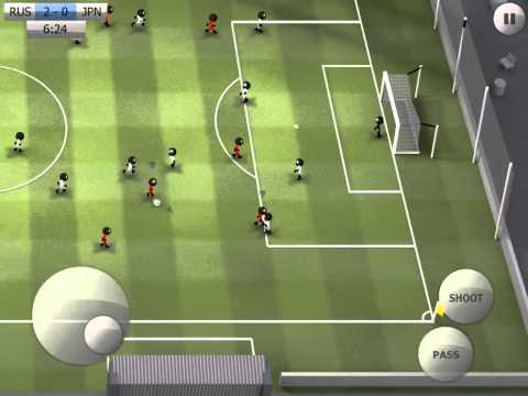 Stickman Soccer - Russia 3 / Japan 0