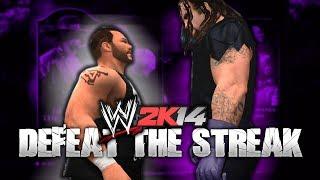 WWE 2K14 DEFEAT The Streak Mode W/ Kevin Steen (Fourth