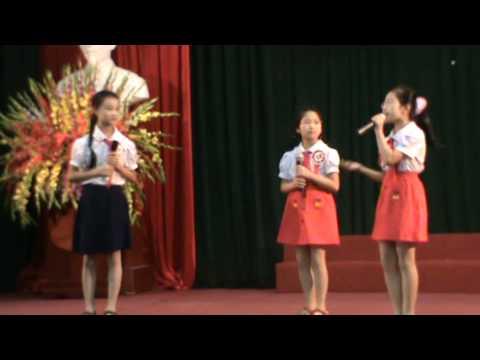 Trường tiểu học Đường Lâm thi kể chuyện thiếu nhi Sơn Tây làm theo lời Bác