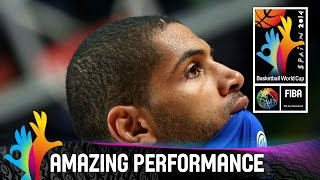 Nicolas Batum - Amazing Performance - Semi-Final - 2014 FIBA Basketball World Cup