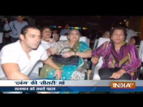 Salman Khan gets emotional while meeting his nanny